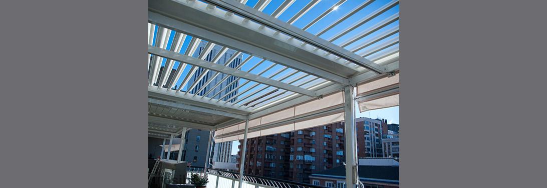 P rgolas de aluminio m viles de lamas para terrazas - Pergolas de aluminio para terrazas ...
