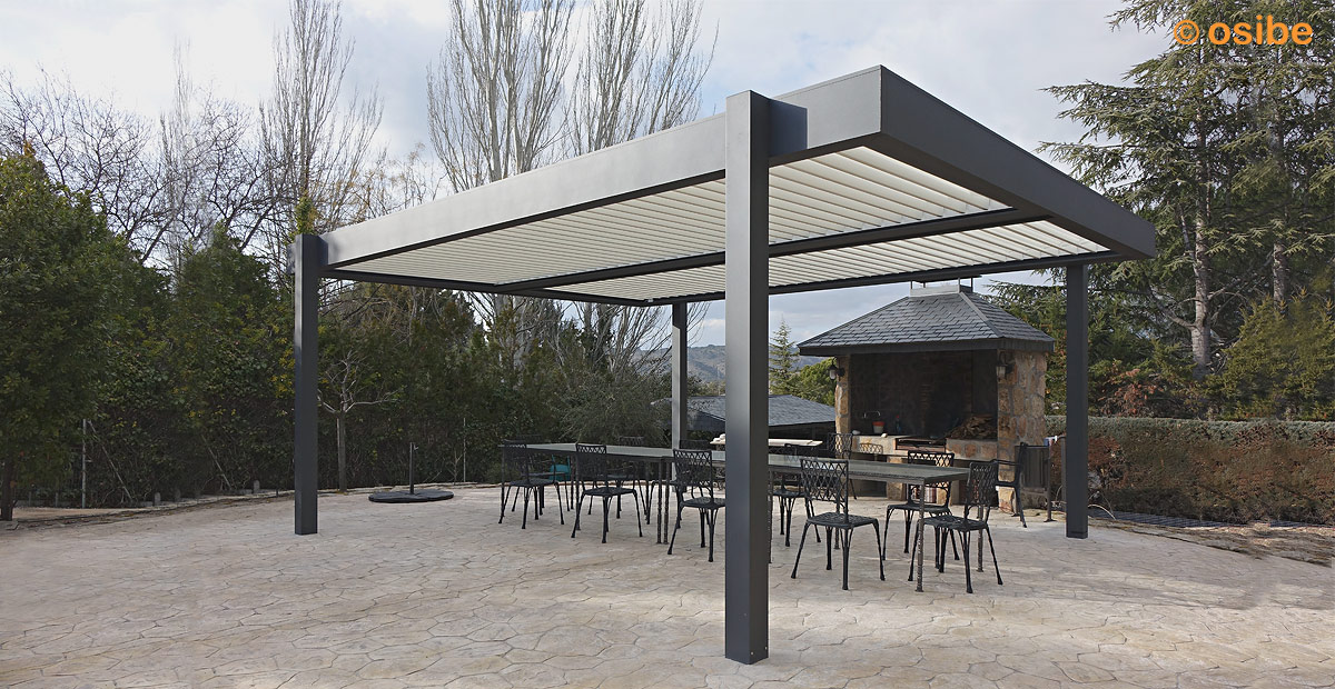 22 innovative pergolas metalicas jardin