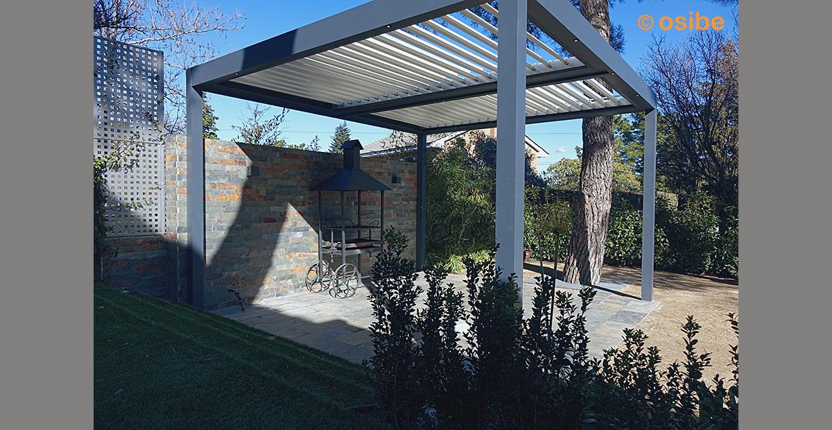 Galeria De Imagenes De Pergolas Y Cerramientos - Pergolas-metalicas-para-jardin
