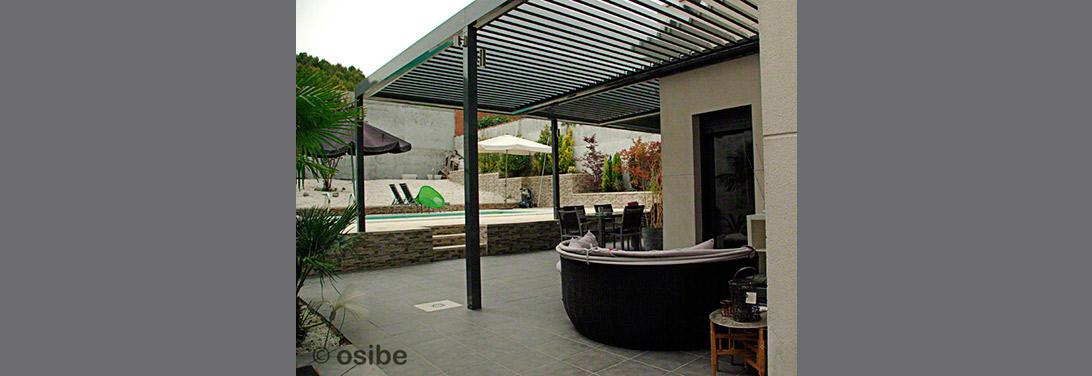 Cenadores para terraza de ticos y terrazas de bares - Pergola terraza atico ...