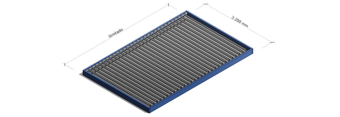 Especificaciones para techos y p rgolas de lamas for Lamas aluminio techo