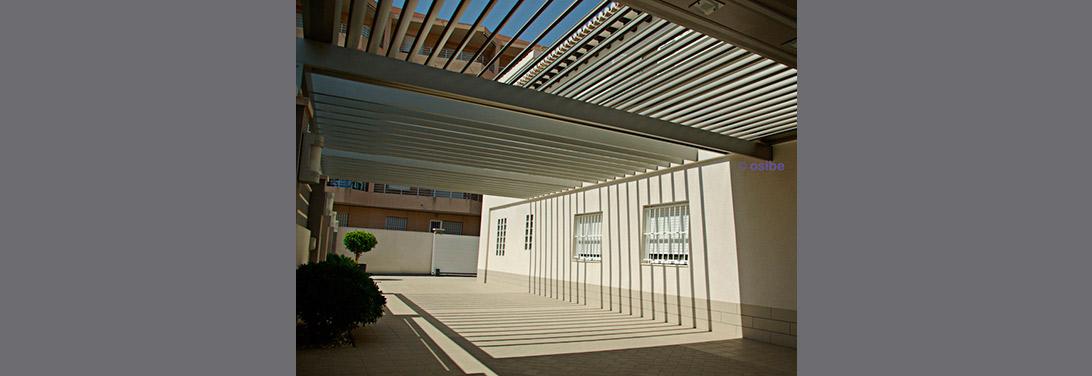 P rgola cubierta para terrazas de bares y restaurantes - Pergolas de aluminio para terrazas ...