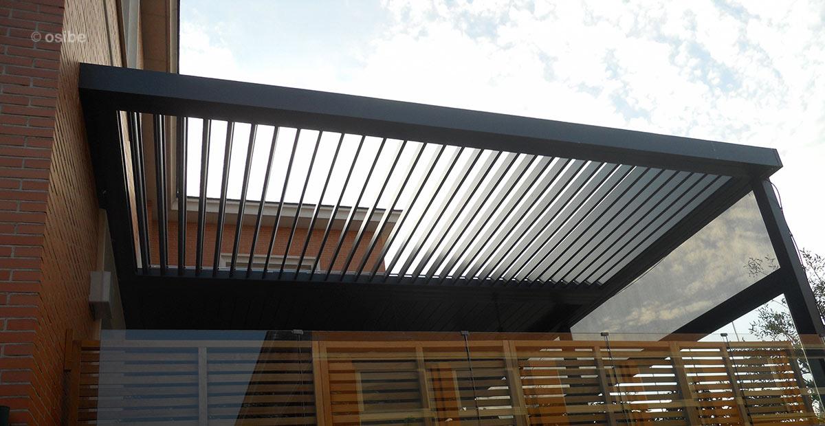 24 brilliant pergolas metalicas modernas - Estructura metalicas para casas ...