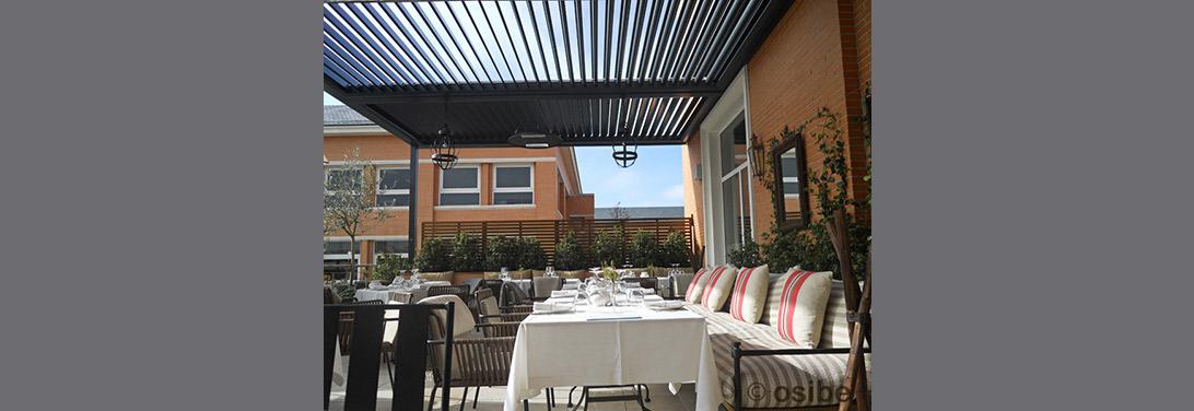 Instalaci n de p rgolas y cerramientos de terrazas para bares - Fotos de cerramientos de terrazas ...