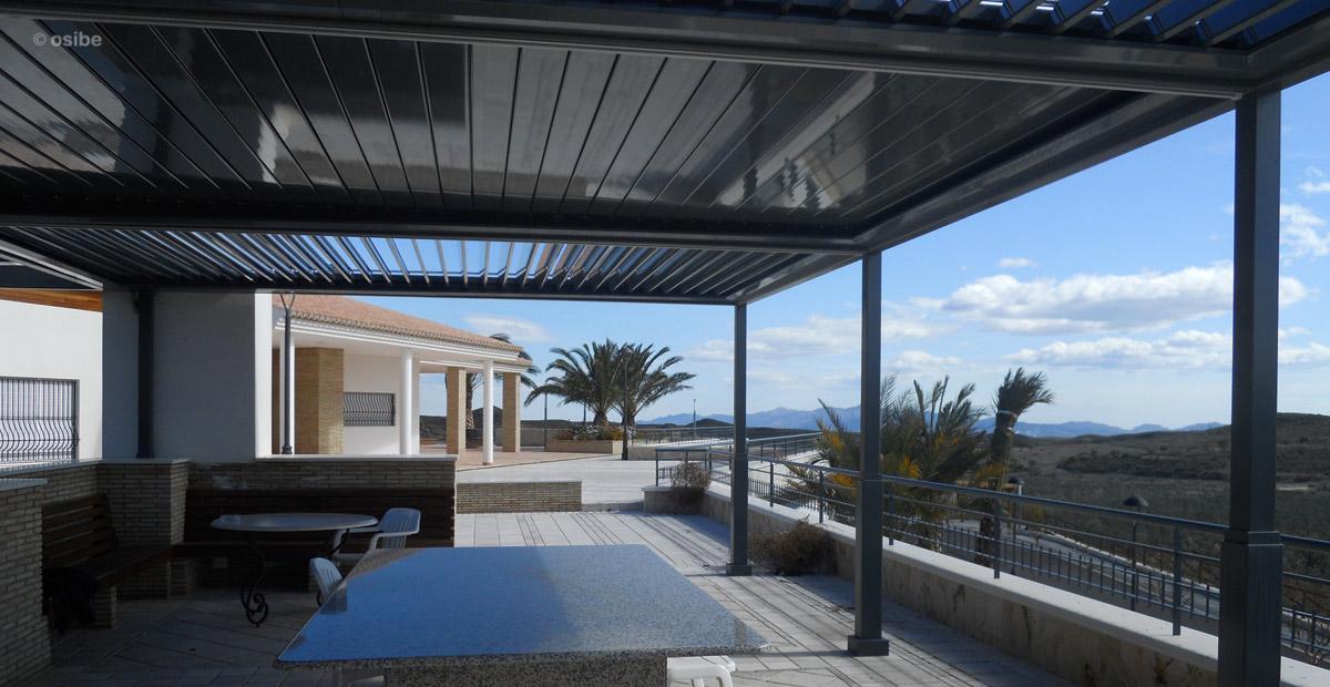 Terrazas cerradas con aluminio diseos de terrazas - Aluminio para pergolas ...