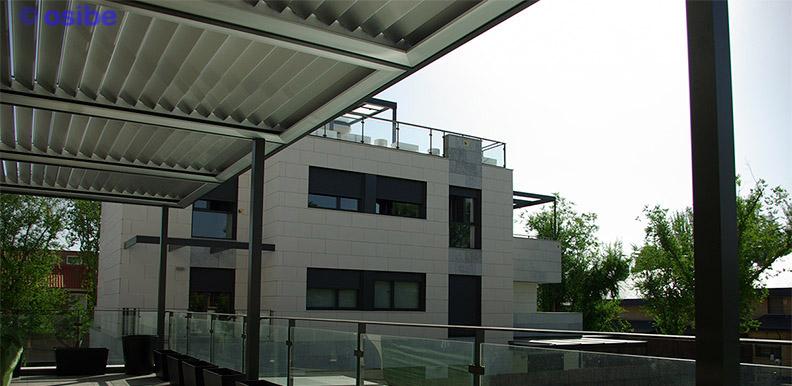 Perfiles aluminio para pergolas coberti toldo horizontal - Aluminio para pergolas ...